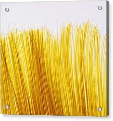 Spaghetti Acrylic Print by David Chapman