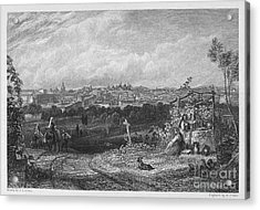 Spain: Madrid, 1833 Acrylic Print by Granger