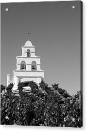 Spanish Mission In The Vineyards I Acrylic Print