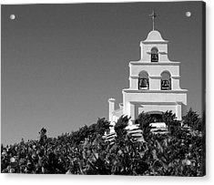 Spanish Mission In The Vineyards II Acrylic Print