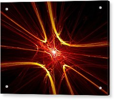 Spark The Fires Acrylic Print by Vincent Iannone