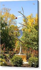 Spatial Summersaults Acrylic Print by Mac Worthington