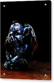 Speak No Evil Gargoyle Acrylic Print