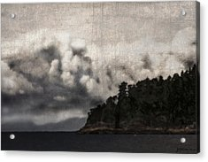 Special Cloud Acrylic Print by Janet Kearns