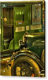 Special Delivery Trucks Acrylic Print by Ken Smith