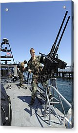 Special Warfare Combatant Craft Crewmen Acrylic Print by Stocktrek Images