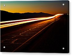 Speed Of Light Acrylic Print by James Marvin Phelps