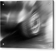 Speed Wheel Acrylic Print by Jan W Faul
