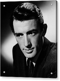 Spellbound, Gregory Peck, 1945 Acrylic Print by Everett