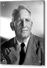 Spencer Tracy, 1940s Acrylic Print by Everett