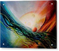 Sphere Gl2 Acrylic Print by Drazen Pavlovic