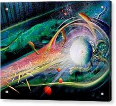 Sphere Metaphysics Acrylic Print by Drazen Pavlovic