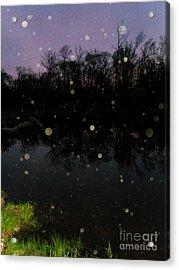 Spherical Sunrise Acrylic Print