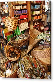 Spice Shop Acrylic Print by Jim Moore