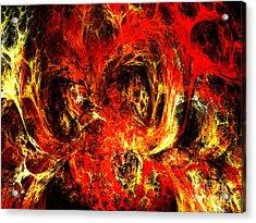 Spider Caverns Acrylic Print