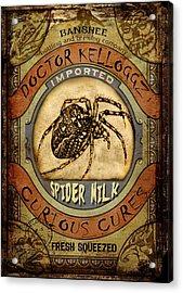 Spider Milk Acrylic Print