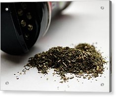 Spilled Seasoning Acrylic Print