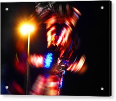 Spin Two Acrylic Print by Charles Stuart
