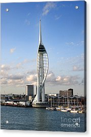 Spinnaker Tower Acrylic Print by Jane Rix