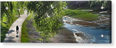 Acrylic Print featuring the photograph Spinning by Brian Duram