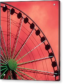 Spinning Wheel  Acrylic Print by Karen Wiles