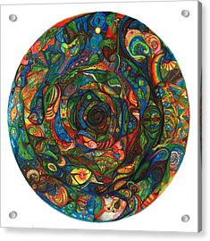 Spiraea Acrylic Print by Jonathan DiNo DiNapoli