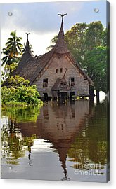 Spirit House Acrylic Print by Anne Gordon