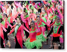 Spirit Of America Dance Team I Acrylic Print by Clarence Holmes