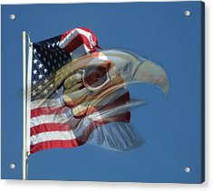 Spirit Of The Screaming Eagles Acrylic Print by Kevin Caudill