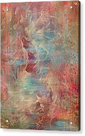 Spirit Of The Waters Acrylic Print by Rachel Christine Nowicki