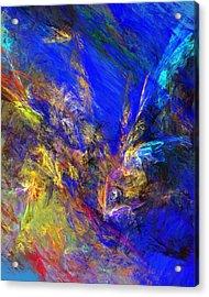 Spirits Over Bay Acrylic Print by David Lane