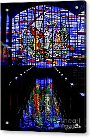 House Of God - Spiritual Awakening Acrylic Print by Carol F Austin