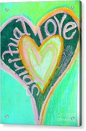 Spiritual Love Acrylic Print