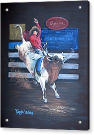 Spitting Bull  Acrylic Print by Tanja Ware