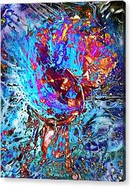 Splash Acrylic Print by Francesa Miller