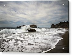 Acrylic Print featuring the photograph Splash by Randy Wood