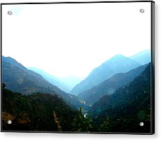 Splendors Of Himalayas-2 Acrylic Print by Anand Swaroop Manchiraju