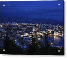 Acrylic Print featuring the photograph Split Croatia by David Gleeson