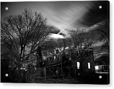 Spooky Night Acrylic Print by Ken Stachnik