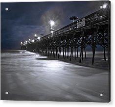 Spooky Pier Acrylic Print