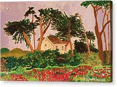 Spooner's Cove Acrylic Print
