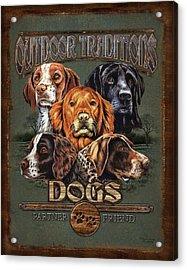 Sporting Dog Traditions Acrylic Print