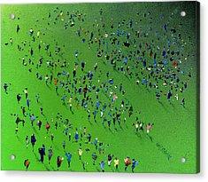 Sports Day Acrylic Print by Neil McBride