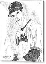 Sports Portrait Acrylic Print