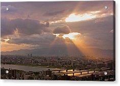 Spotlight On Osaka Acrylic Print