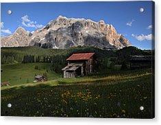 Spring At Santa Croce Acrylic Print
