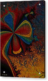 Acrylic Print featuring the digital art Spring Awakes by Kim Redd