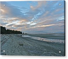 Acrylic Print featuring the photograph Spring Beach by Brian Sereda