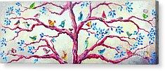 Spring Birds Acrylic Print