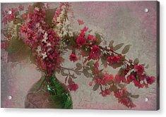 Spring Bouquet1 Acrylic Print by Jeff Burgess